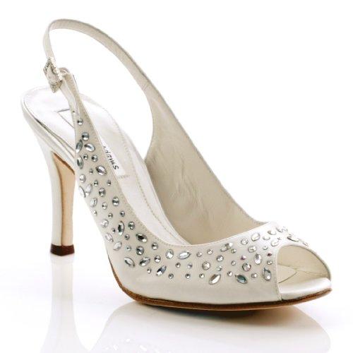 Diaz Wedding Shoes White Size 5