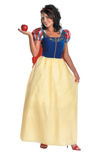 Snow White Deluxe Costume - Medium - Dress Size 8-10