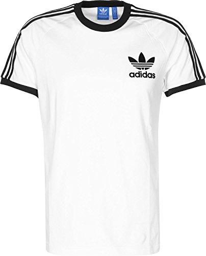 Adidas Clfn Tee T-shirt - Bianco (White/Black) - M