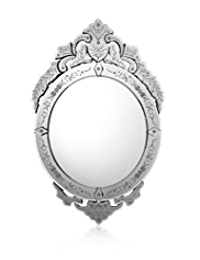 Large Damask Mirror