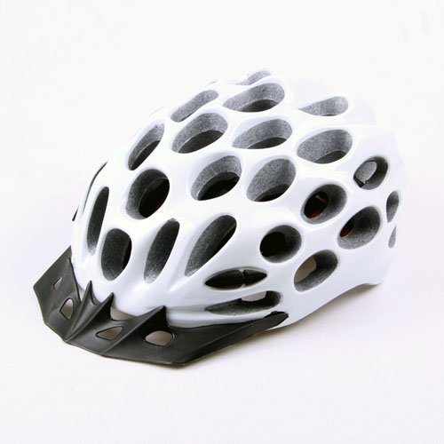 white Road Mountain Cycling Bike Helmet Visor Adult Bicycle Helmet protec adult helmet