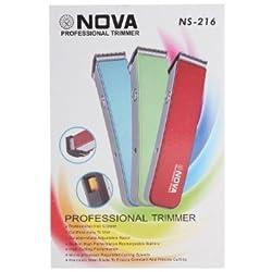 Nova NS-216 professional Rechargable trimmer (multicolor)