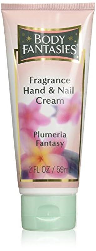 바디 판타지 향수 핸드 & 네일 크림 Plumeria