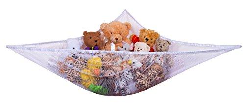 Jumbo Toy Hammock - Organize stuffed animals or children s toys with the mesh ha…