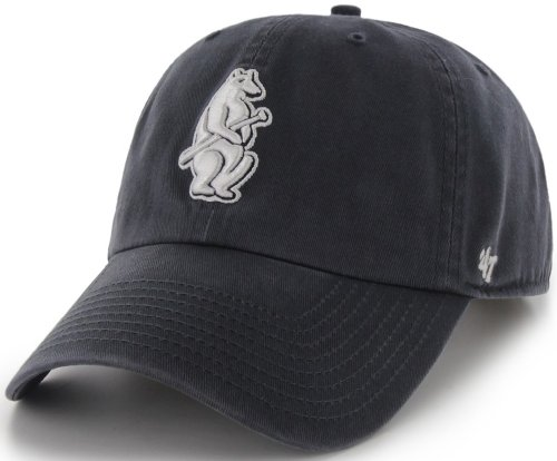 MLB Chicago Cubs '47 Brand Clean Up Adjustable Cap-1914 Styl