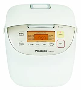 """Panasonic SR-MS183 10-Cup (Uncooked) """"Fuzzy Logic"""" Rice Cooker"""