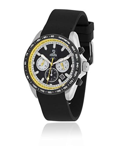 Dogma Reloj con movimiento cuarzo suizo Dgcrono-343Am Negro 45  mm