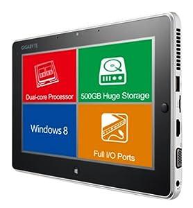 Gigabyte 10.1-inch Tablet (Celeron 1.1GHz Processor, 2GB RAM, 500GB HDD, Windows 8 Professional)