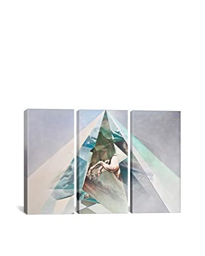 Jonathan Saiz Out Of Reach Or Underneath High Gallery Wrapped Canvas Print, Triptych  [Multi]
