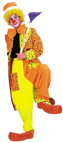 Costumes For All Occasions AA34LG Dapper Dan Neon Clown Large