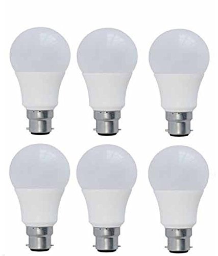 Syska PAG 12W LED Bulb (White, Pack of 6)