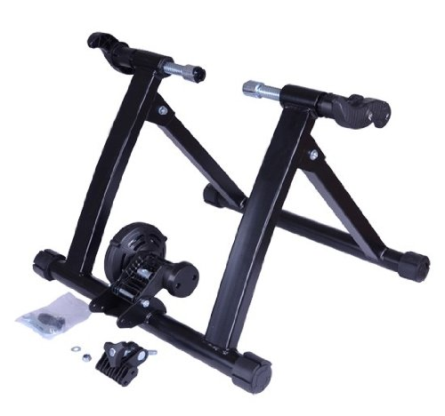 Frugah New Indoor Steel Bike Bicycle Exercise Magnet Trainer Stand Stationary Sports