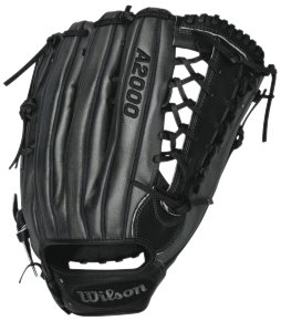 Buy Wilson A2000 Outfield Baseball Glove (Black Grey), Left Hand Throw, 12.5 by Wilson