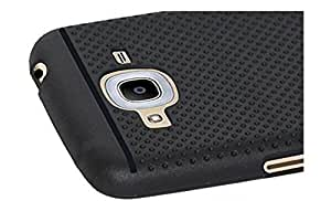Tidel Exclusive Dotted Matte Finish Soft Back Cover for Samsung Galaxy J7( Black )