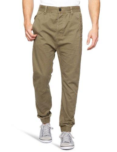 Bellfield MTRS-11181K Slim Men's Trousers Khaki W28 INxL31 IN