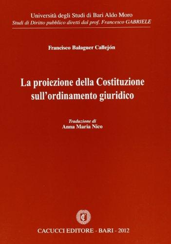 La proiezione della Costituzione sull'ordinamento giuridico