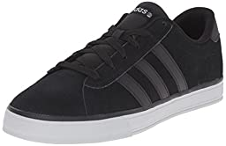 adidas NEO Men\'s Daily Lifestyle Skateboarding Sneaker,Black/Clear Onix Grey/Black,11 M US