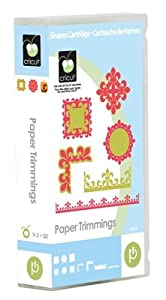 Cricut Cartridge - Paper Trimmings