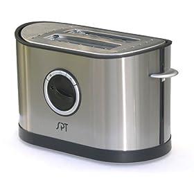 Sunpentown SO-337T Stainless-Steel 2-Slice Toaster