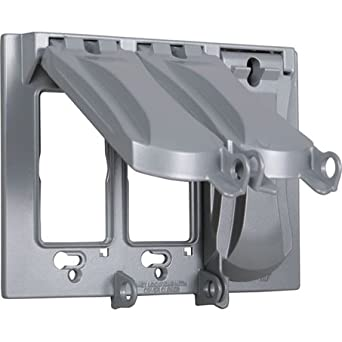 Hubbell Mx3050s Weatherproof Metallic Device Cover With