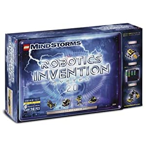 Click to buy Tesla Inventions: LEGO MindStorms 3804 RCX Robotics Invention System 2.0 from Amazon!