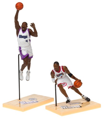 McFarlane Toys NBA 3 Inch Sports Picks Series 1 Mini Figures 2-Pack Allen Ive...
