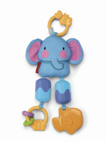 Fisher-Price Discover 'n Grow Stroller Chimes, Elephant (Discontinued by Manufacturer)