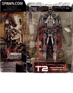 Picture of McFarlane Movie Maniacs Series 5 : T-800 Endoskeleton Action Figure (B000EVKFWS) (McFarlane Action Figures)