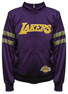 NBA Exclusive Collection Los Angeles Lakers Youth Track Jacket by Majestic