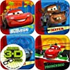 Disney Cars 2 Party CakeDessert Plates 8ct