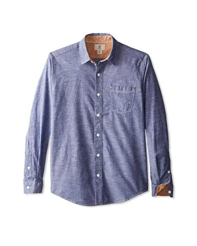 Timberland Men's Mumford River Chambray Long Sleeve Shirt