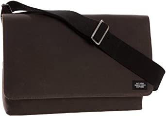 Jack Spade Waxwear Industrial Day Bag,Chocolate,one size