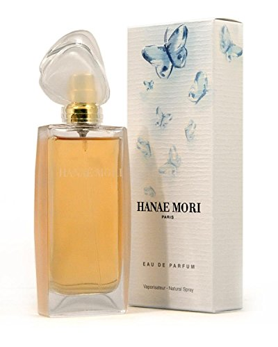 Hanae Mori EDP Spray for Women, Blue Butterfly, 3.4 Ounce