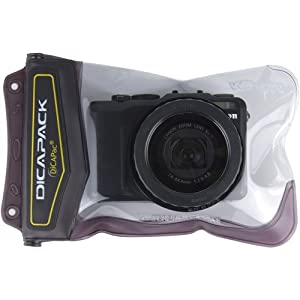 DiCAPac WP570 Underwater Waterproof Case for Large Cameras (like Canon G5/G7/G9 and similar models)