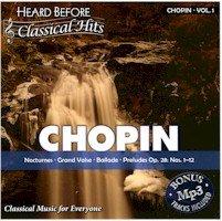 BRAND NEW Selectmusic Chopin Volume 1 Heard Before Classic Hits Classical Music Cartoons Movies Settings