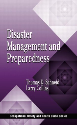 Disaster Management and Preparedness (Occupational Safety...