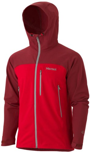Marmot Men's Tempo Softshell Hoody - Team Red/Brick, X-Large