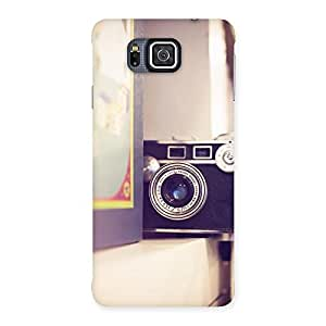 Premium Pastel Camera Back Case Cover for Galaxy Alpha