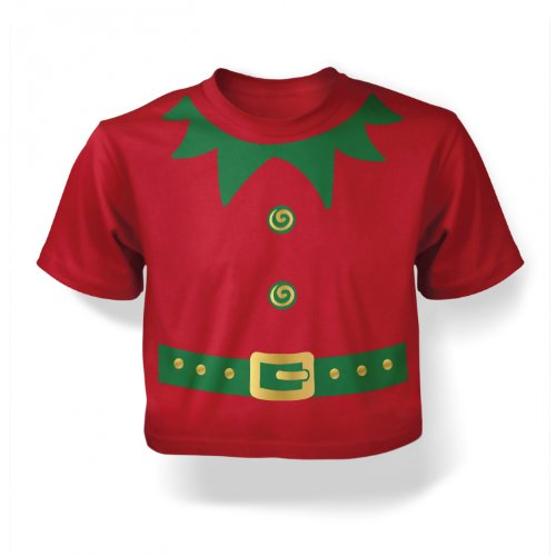 Christmas Elf Babies' Costume (green Detail)