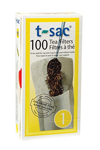 Best Review Of T-Sac Tea Filter Bags, Disposable Tea Infuser, Number 1-Size, 1-Cup Capacity, Set of ...