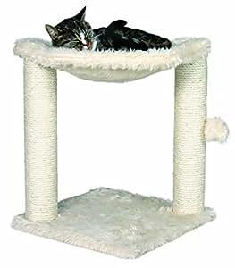Tree house small cat condo scratching hammock scratcher toy bed post kitten pet - Cat hammock scratcher ...