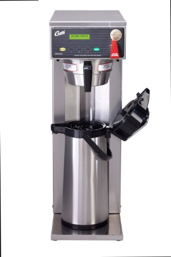 Wilbur Curtis G3 Airpot Brewer 2.2L To 2.5L Single/Tall Airpot/Gravity, Dual Voltage - Commercial Airpot Coffee Brewer  - D500GTH63A000 (Each)