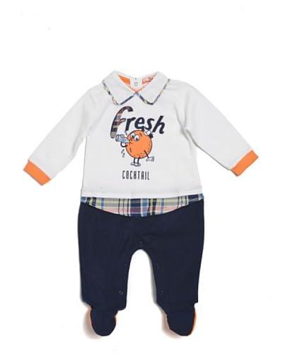 Trudi Coordinato Bebè [Bianco/Blu]