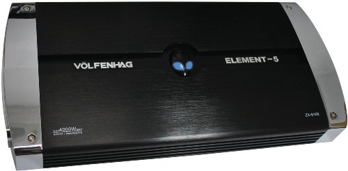 VOLFENHAG ZX5168 2-Channel 4000W Car Amp | Home Audio Guru