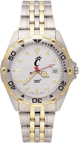 Ncaa Cincinnati Bearcats All Star Watch Stainless Steel Bracelet