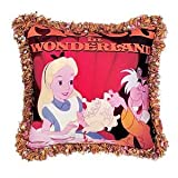 Exclusive Disney Alice in Wonderland Poster Art Double-sided Throw Pillow