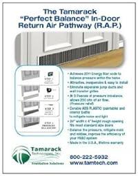 Tamarack TTi-RAP-D Perfect Balance In-Door Return Air Pathway