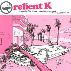 Original album cover of Two Lefts Don't Make A Right ... But Three Do by Relient K