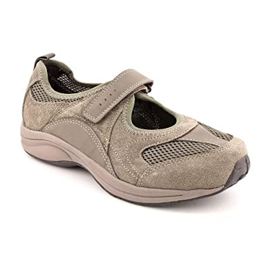 Easy Spirit Active Walkthru Womens Size 8 Gray Suede Mary Janes Shoes