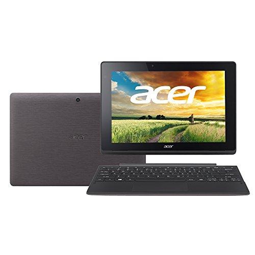 Acer 2in1ノートPC/タブレット Aspire Switch 10E[Windows10無料アップデート対応](IPSパネル搭載/Atom Z3735F/2G/64G eMMC/10.1インチ/Win8.1(32)/APなし/シャークグレイ)SW3-013-N12P/K